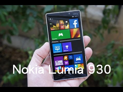 Nokia Lumia 930-hands on (Greek)