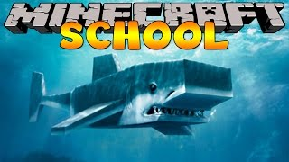 Minecraft School : SHARK FISHING FIELD TRIP !