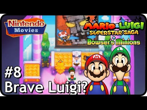 Mario & Luigi: Superstar Saga + Bowser's Minions - (M&L) Episode 8 - Brave Luigi?