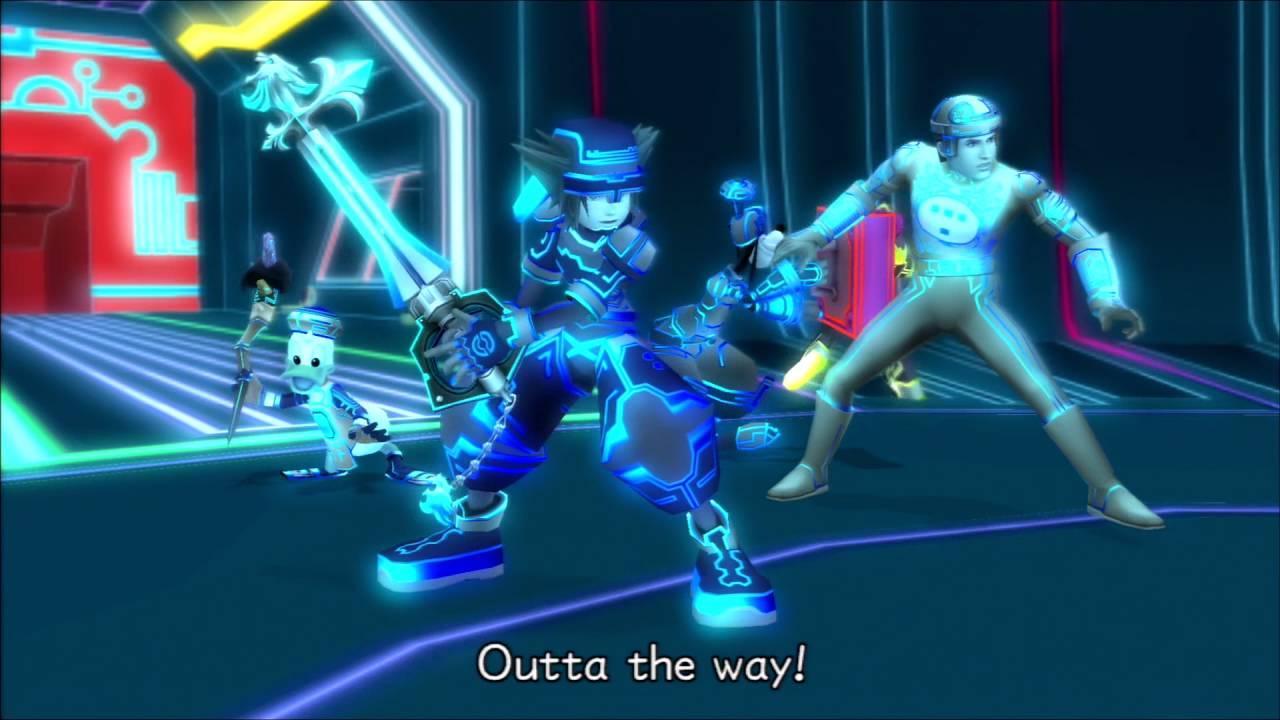 Space Paranoids Sora Outta the Way Tron