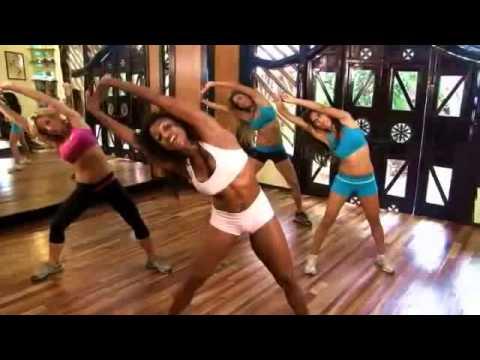 Cvičenie pre ženy s vlastnou váhou na pevné STEHNÁ a okrúhly ZADOK
