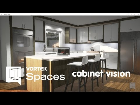 9 Cabinet Vision Rendering in 8 Minutes with VORTEK Spaces