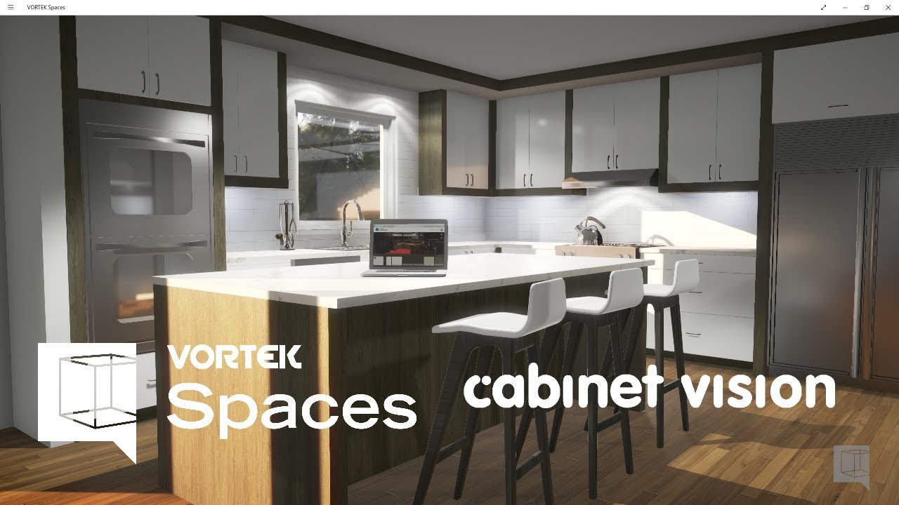 9 Cabinet Vision Rendering In 8 Minutes With Vortek Spaces Youtube