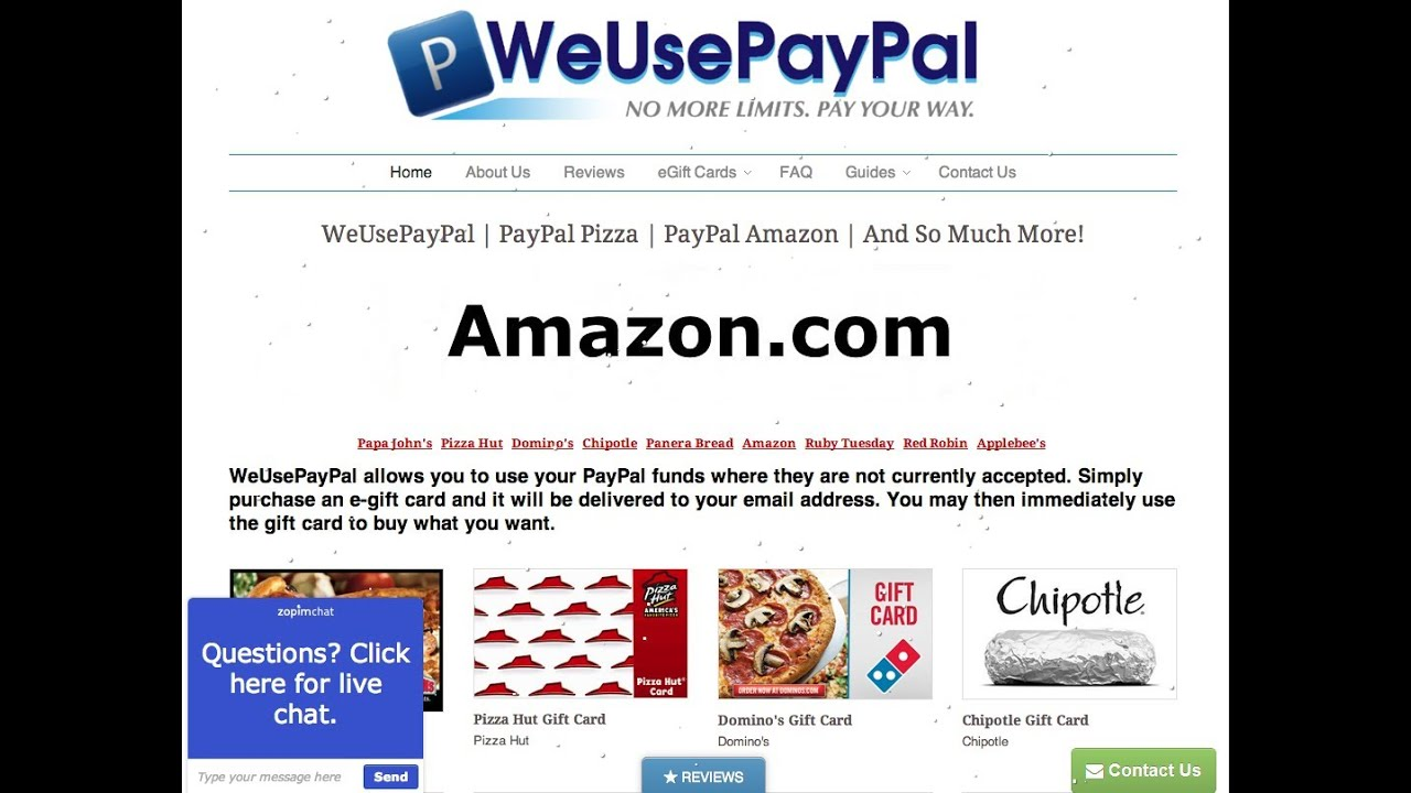 How To Use PayPal On Amazon 2014/2015 - YouTube
