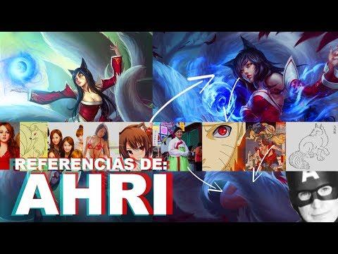 ENTENDÍ LAS REFERENCIAS DE: AHRI   Curiosidades del campeón y sus skins   Halo