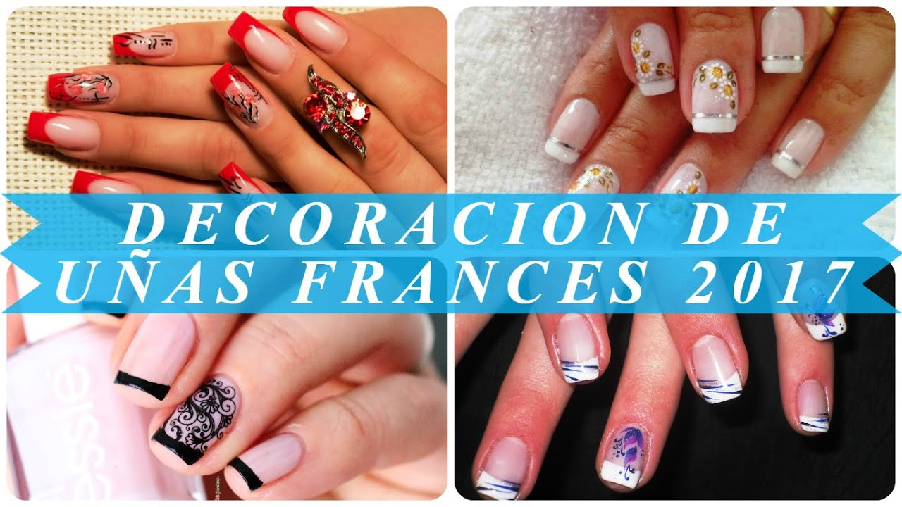 decoracion de uas francesa - Uas Decoracion