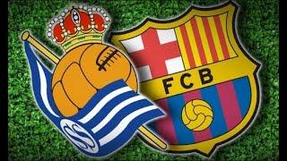 Реал Сосьедад - Барселона (чемпионат Испании 2003-2004, 10 тур). Комментатор - Денис Цаплинд