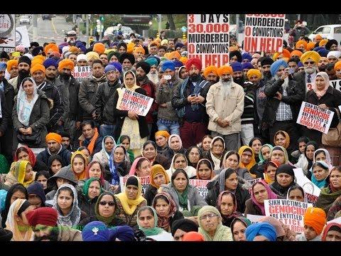 United Nations Sikh Genocide Petitoion Geneva Switzerland, 01 Nov 2013