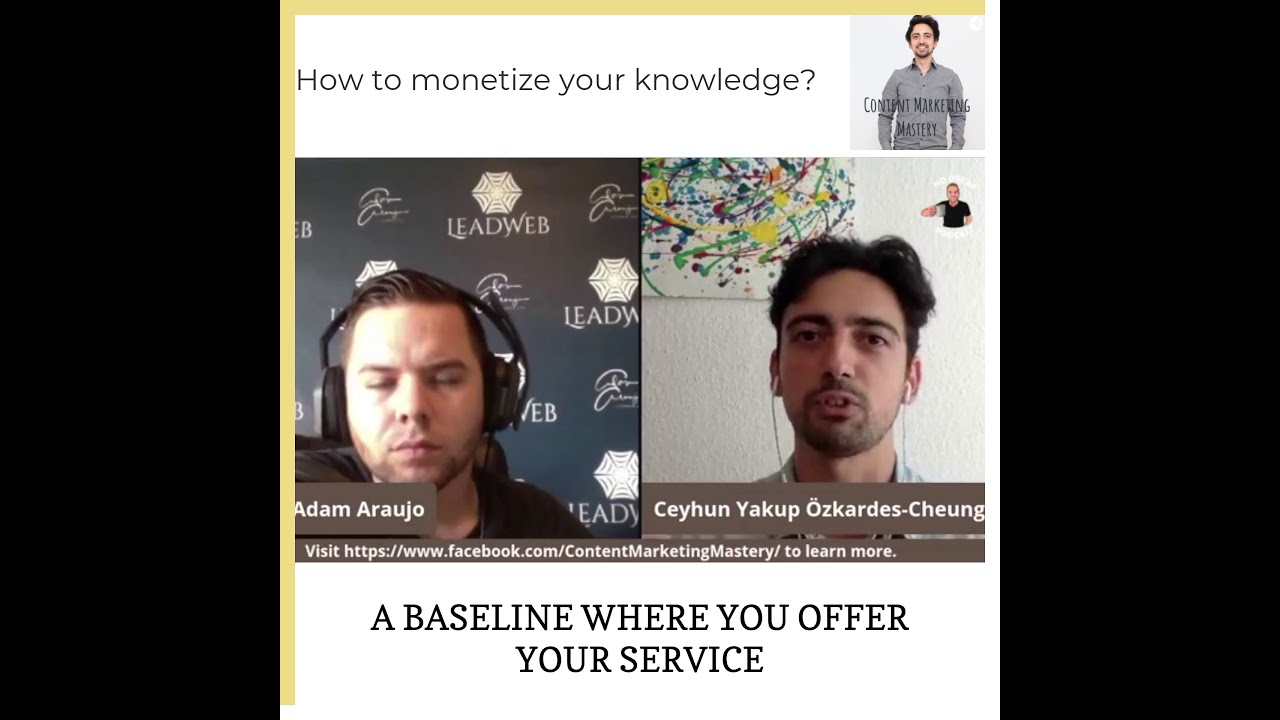 How to monetize your knowledge?