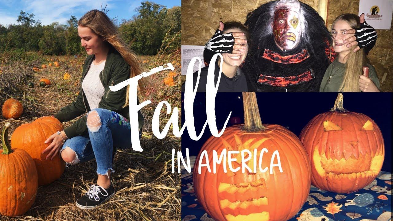 Thanksgiving, Pumpkin farm, Halloween, color festival,  26 ,  Auslandsjahr 2017/18 USA