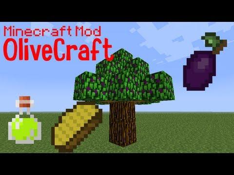 Minecraft Mod: OliveCraft