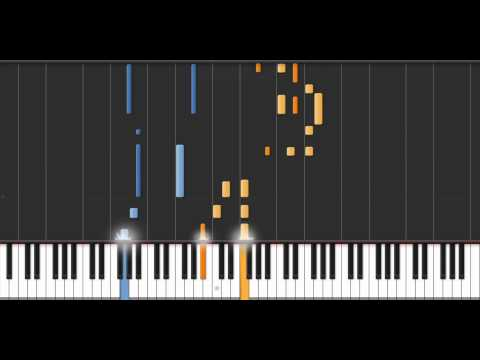 Cheers Theme - Synthesia (50% Speed)
