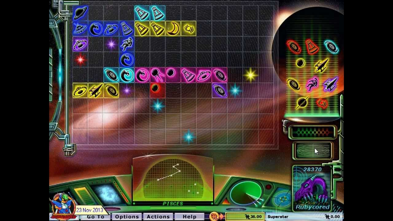 Hoyle puzzle & board games 2008 star collector 01[720p] youtube.