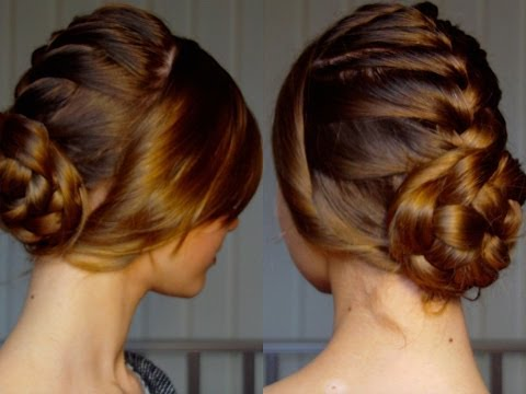 French Twisted Bun | Celebrity Hairstyles