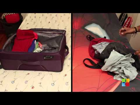 Packing - men vs women