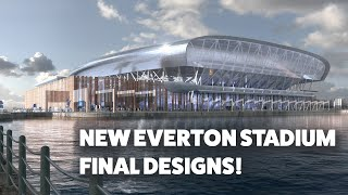 FLYTHROUGH OF NEW EVERTON STADIUM AT BRAMLEY-MOORE DOCK!