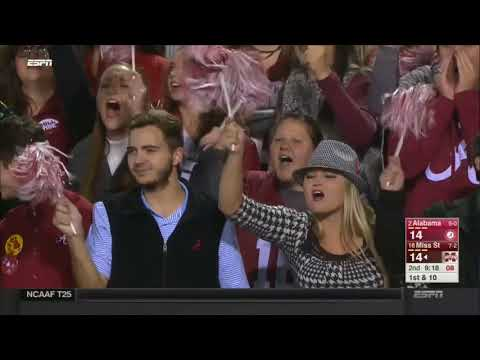 2017 - Alabama Crimson Tide at Mississippi State Bulldogs in 30 Minutes