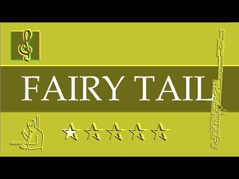 Flute Notes Tutorial - Fairy Tail Main Theme (Sheet Music)