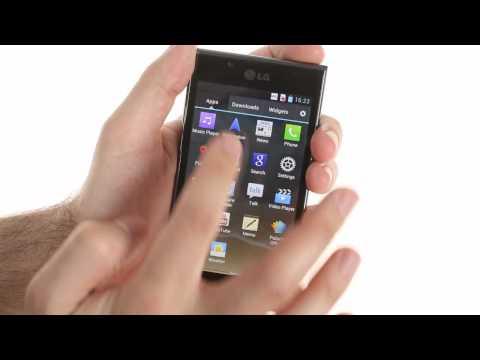 LG Optimus L7 user interface