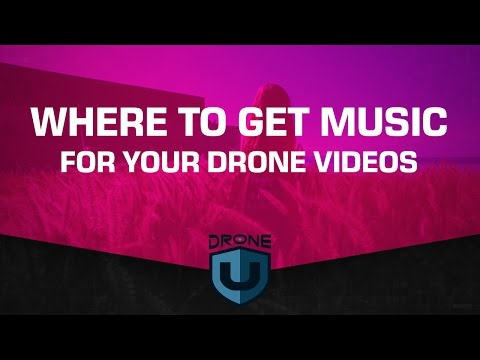 Where to get good music for your drone videos