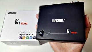 2017 MECOOL KI Pro - Hybrid Android TV Box with Dual DVB Satellite/TV Tuner