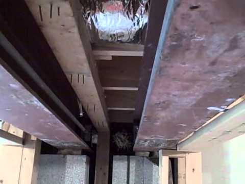 Nashville Home Inspector Discovers Load Bearing Wall Removed From Basement