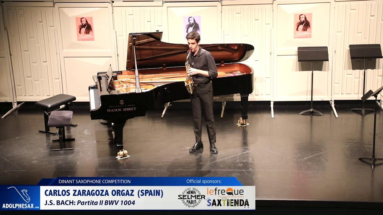 Carlos Zaragoza Orgaz (Spain) - Partita II by J.S.Bach (Dinant 2019)
