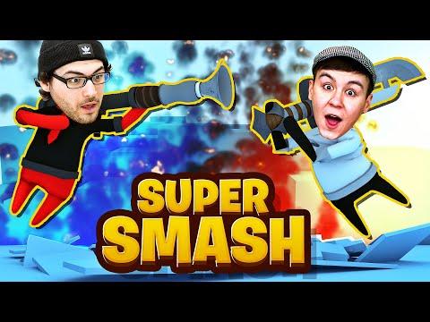 ROMAN & LARS PRÜGELN SICH WIEDER!! - Super Smash [Deutsch/HD]