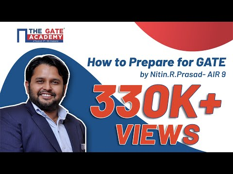 How to Prepare for GATE with Nitin.R.Prasad- GATE Rank 9 | Lakshya GATE
