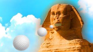 ПОПАЛ МЯЧИКОМ ДЛЯ ГОЛЬФА В РОТ СФИНКСУ! (Golf With Your Friends)