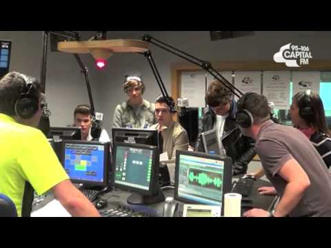 Union J play Carry Youuuuuu on Capital Manchester