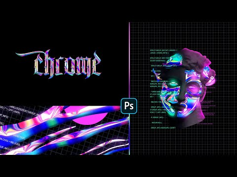 Class Intro - Gradient Chrome Effect Experiments In Photoshop