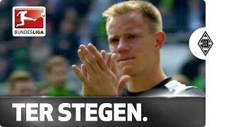 Tearful Ter Stegen Waves Goodbye to Mönchengladbach