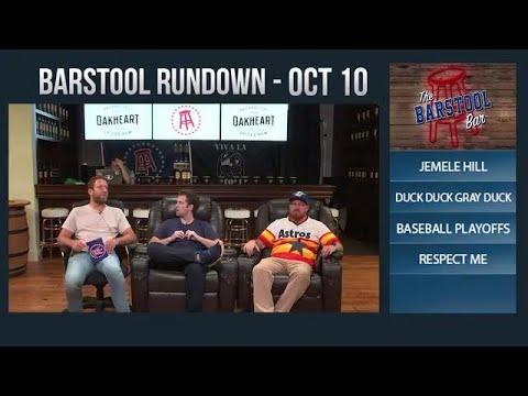 10-10-17 Barstool Rundown