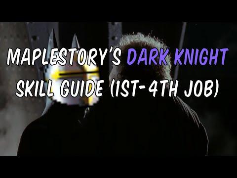 Maplestory's Dark Knight (1st - 4th Job) - XXFangblade66Xx Begins