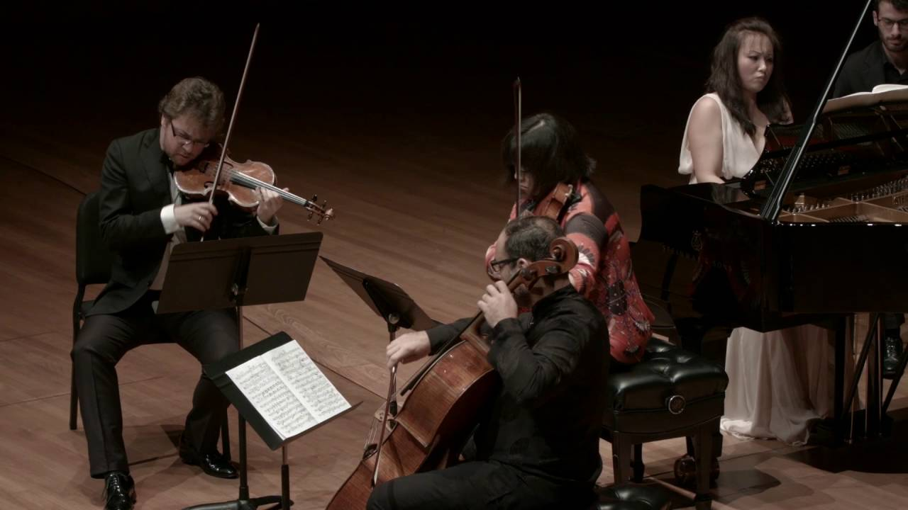Strauss: Piano Quartet in C minor, Op. 13, IV. Finale