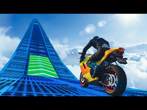 Thumbnail: BIGGEST BIKE RAMP EVER?! - GTA 5 Funny Moments #661