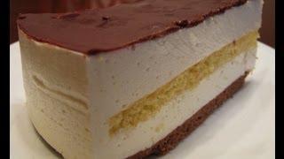 Торт «Птичье молоко» с сыром маскарпоне(, 2013-02-14T18:59:00.000Z)