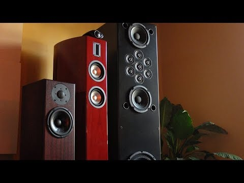 Saturday fun with Tekton, Mistral, and Totem!  (Three examples of hi-fi excellence)