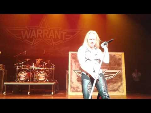 Warrant Sometimes She Cries; San Antonio Texas 2017