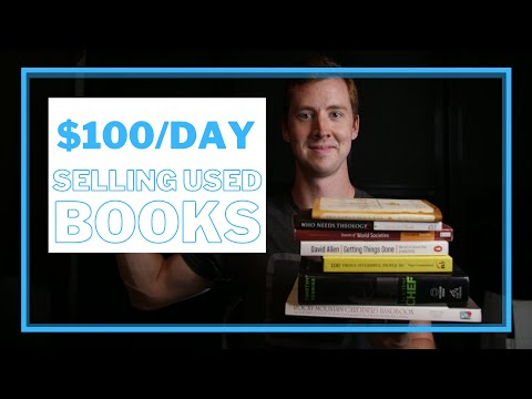 How to make $100 a day from Amazon FBA selling used books in 2021