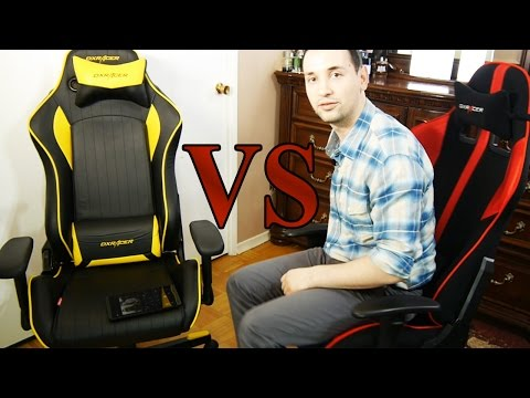 DXRacer D-Series Vs F-Series, Battles Begin!