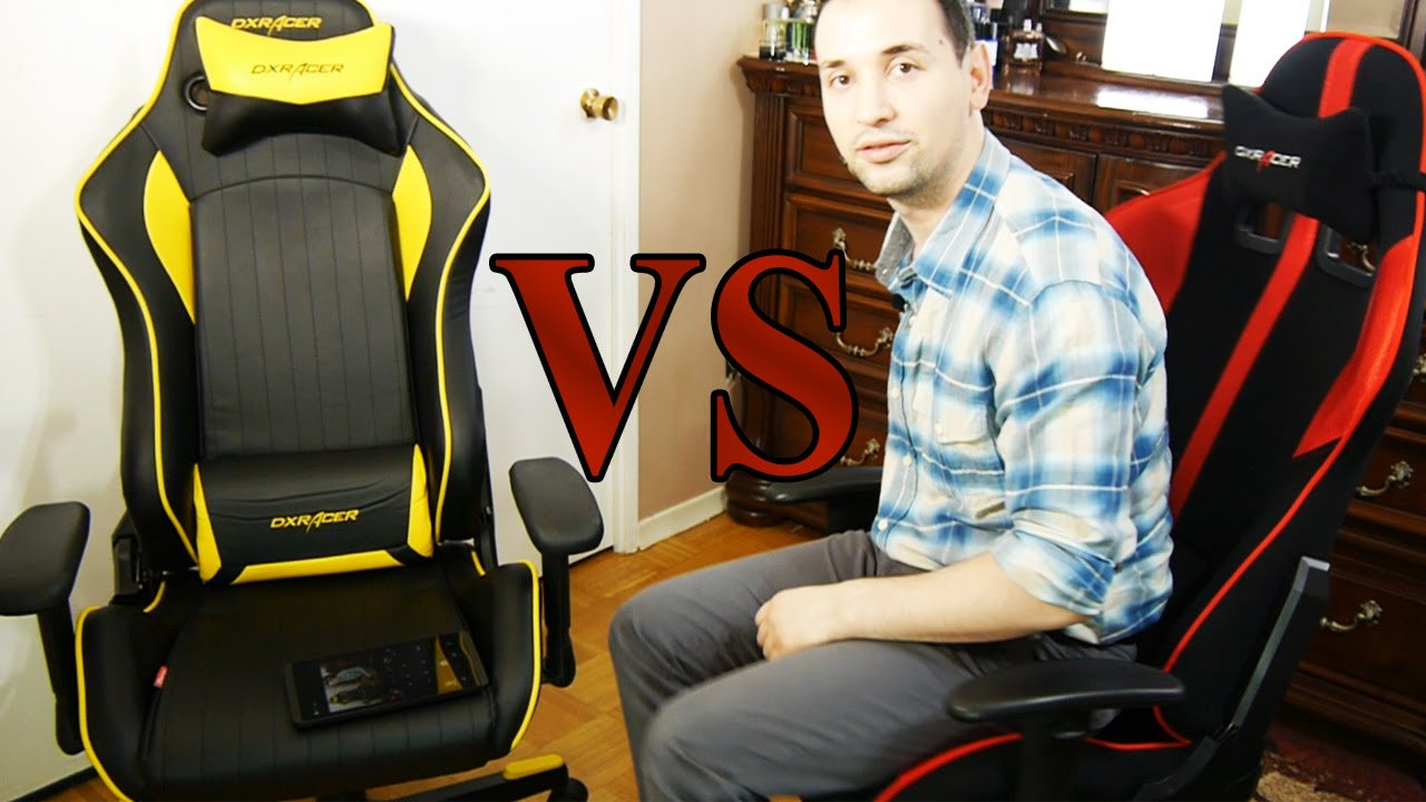 Dxracer D Series Vs F Series Battles Begin Youtube