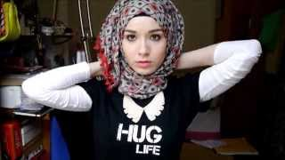 Repeat youtube video 3 Easy Summer Hijab Tutorials