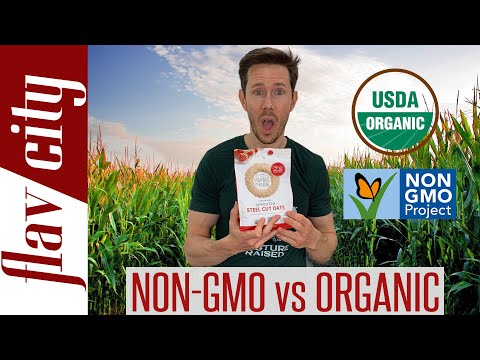 Organic vs Non-GMO Food - What's The Difference & Which Is Better?!