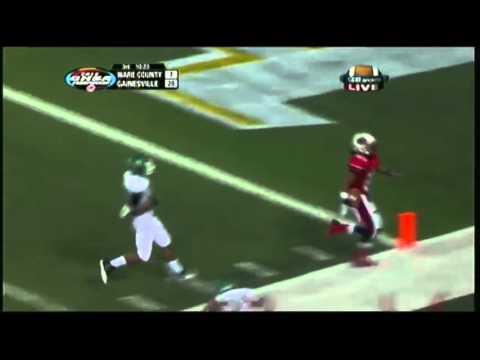 Gainesville DB Fred Payne returns interception 72 yards