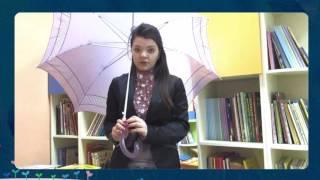 Страна читающая — Дарья Анисимова читает произведение «Человек с зонтом» О. Е. Григорьева