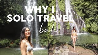 Download Video Why I Solo Travel & Visiting Secret Waterfalls in Bali MP3 3GP MP4