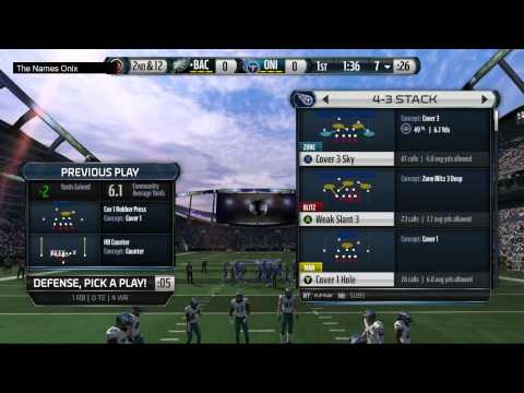 Madden 15 Ultimate Team Gameplay - Combine Monster CJ2K Debut