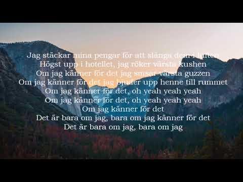 Yasin Byn - Bara om jag känner för det (Lyrics)